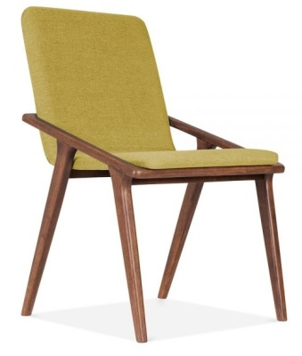Welbec Chair Olive Fabric Front Angle