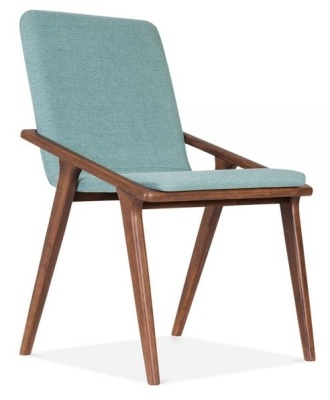 Welbec Chair Fdark Teal Fabric Front Angle