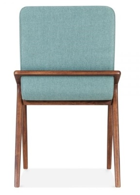 Welbec Chair Teal Fabric Rear View