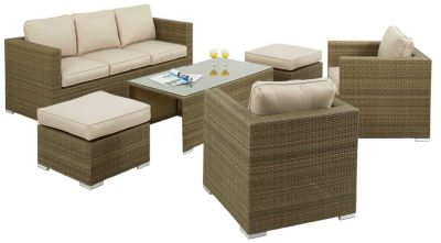 Mirage Outdoor Rattan Setv