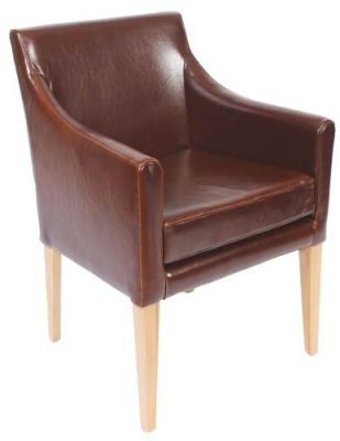 Plympton Leather Dining Chair