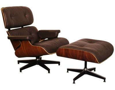 Eames BROWN ROSEWOOD ANGLE