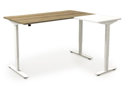 Avalon Sit Stand Desk And Return