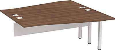 Avalon Two Person Wave Extension Desk