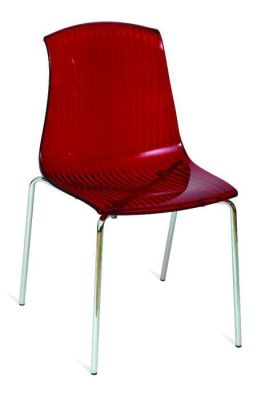 Ontario Red Polycarbonate Chair