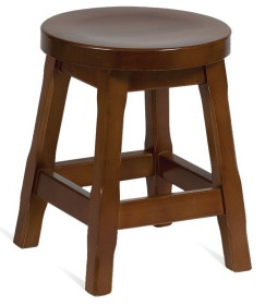 Gallloway Wooden Low Stool