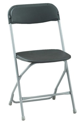 Euro Poly Chair Charcoal