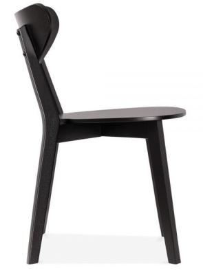 Joshua Black Chair Side View