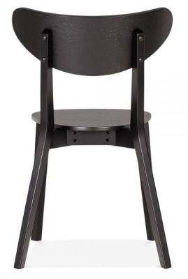 Joshua Black Dining Gchair Shown From The Rear