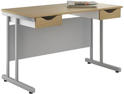 UCLIC Create Sylvan Desk With Two Drawes