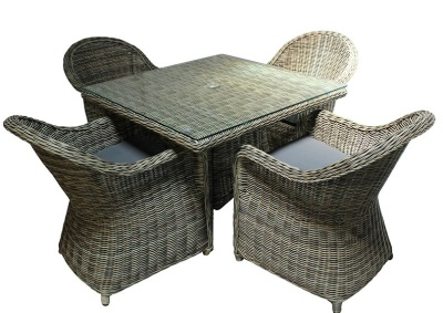 Hampstead Four Seater Dining Set
