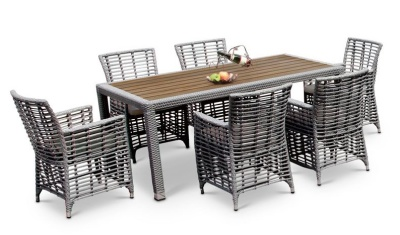 Havana Six Person Dining Set