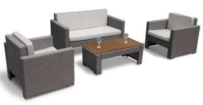 Rico Luxury Sofa Set With Light Grey Cushions