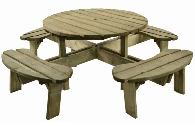 Westleigh 8 Seater Picnic Set