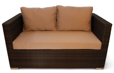 Oscar Weave Two Seater Sofa 1