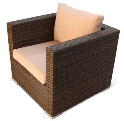 Oscar One Seater Ratatn Armchair