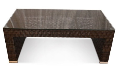 Cuban Rattan Coffeee Table 1