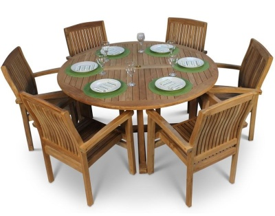 Stratford Six Seater Dining Set 1