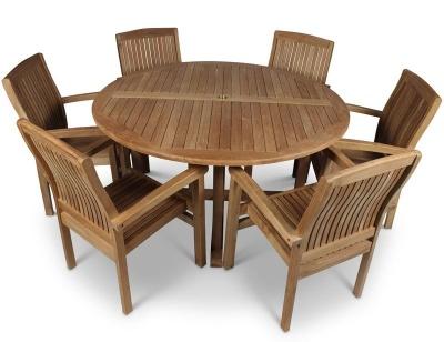 Stratfiord Six Seater Dining Set 2