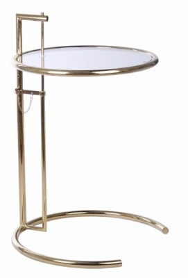 Eileen Grray Table With A Gold Frame