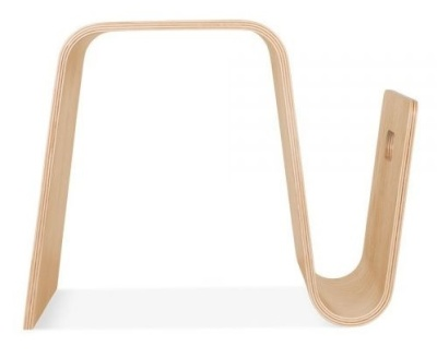 Madrid Bentwood Chair In Natural Side View