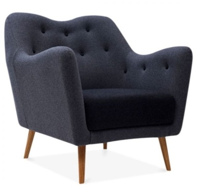 Rebecca Single Seater Armchair Front Angle
