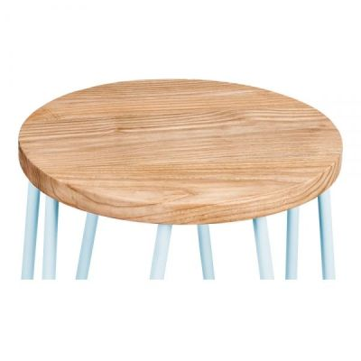 Hairpin Low Stool Sseat Detail