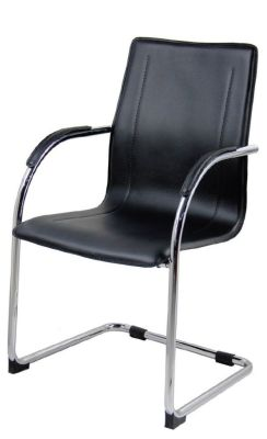 Maris Leather Conference Chair Angle