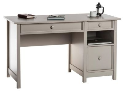 Brixham Cobblestone Grey Computer Desk 1