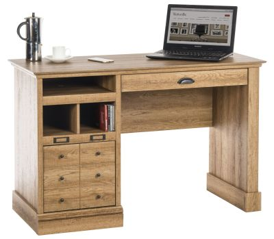 Paignton Scribed Oak Desk 1