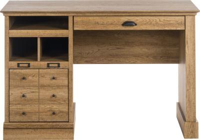 Paignton Cribed Oak Desk 5