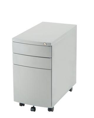 Slimline-Steel-Mobile-Pedestal Silver-compressor