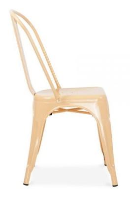 Xavier Pauchard Chair In Peach Side View