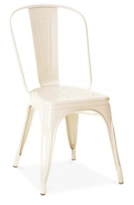 Xavier Pauchard Side Chair Off White Finish