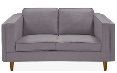 Eddie Two Seater Sofa Smokey Grey