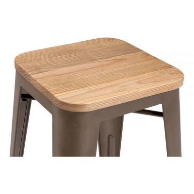 Xavier Wooden Seat Detail 4
