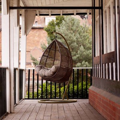Compton Hanging Chair Mood Shot