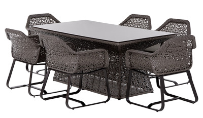 Compton Six Person Dining Set