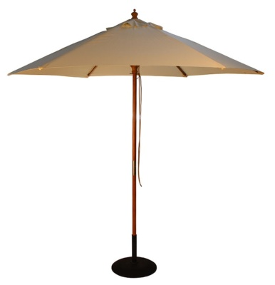 Parade Parasol In Natural Finish