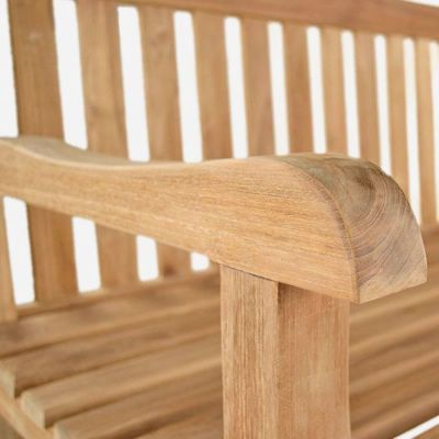Westlea Bench Detail Shot