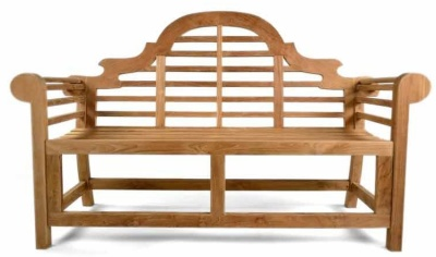 Salcombe Three Seater Teak Bench