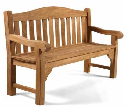 Martock Two Seater Teak Bench 1