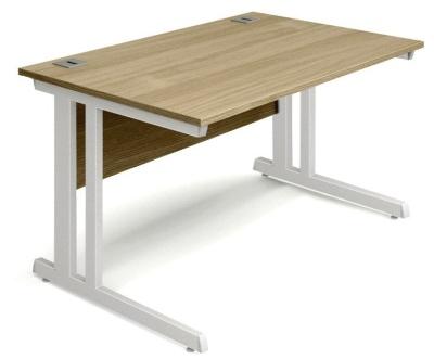 Trapido Rectangular Desks In Oak
