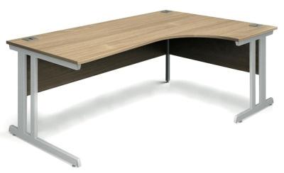 Trapido Right Hand Corner Desk In Oak