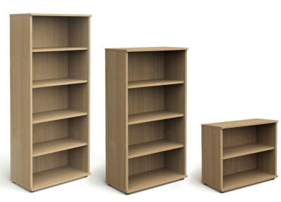Trapido Oak Wooden Bookcases