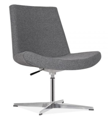 New Jersey Chair In Grey Front Angle
