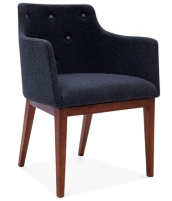 Jolly Designer Armchair Front Angle