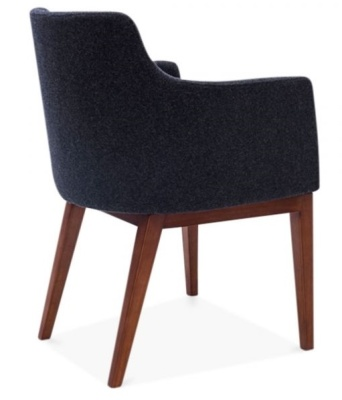 Jolly Designer Armchair Rear Angle
