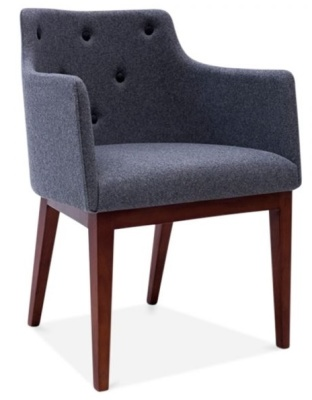 Jolly Designer Arm Chair Front Angle
