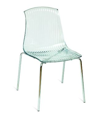 Adelaide Sidechair - Clear